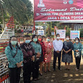Wakil Ketua PPK Minsel Puji Kekompakan PPK Desa Toyopon Tata Taman Untuk Lomba HUT RI