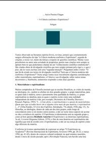 A Ciência Confirma o Espiritismo! (Aécio Pereira Chagas) pdf