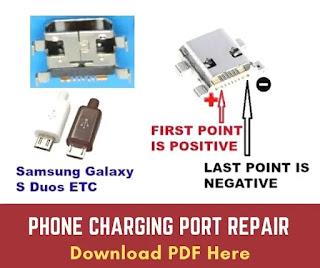 Phone Charging Port Repair Best 12 Tips in a pdf document