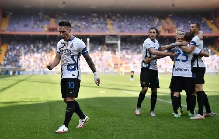 Lautaro & Dimarco Helps Serie A champions secure 1-1 draw against Sampdoria