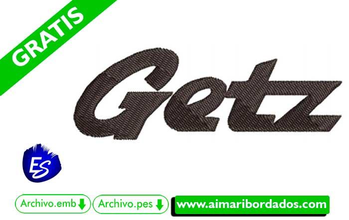 Logo Hyundai Getz Para Bordados