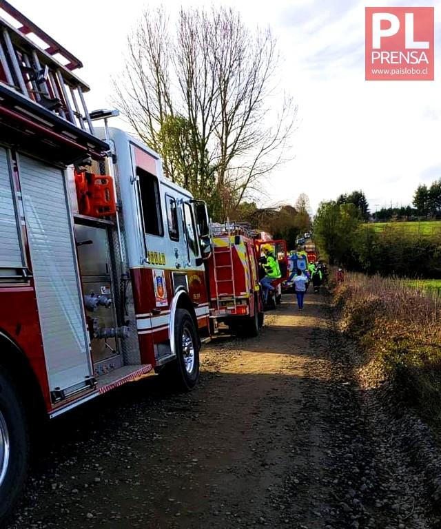 Fatal accidente vehicular en el sector rural de Concordia