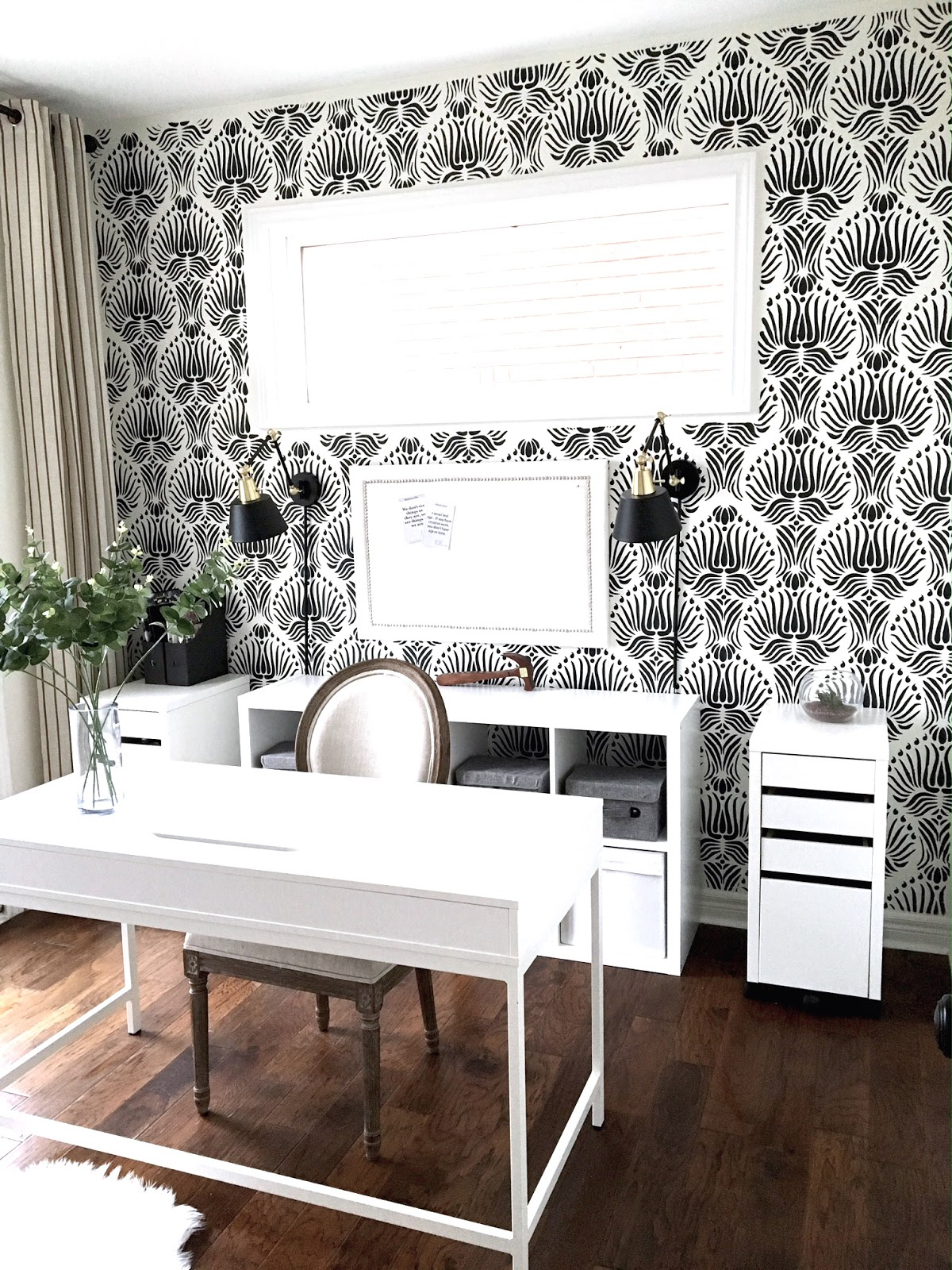 To Get Caught Up On My Progress So Far You Can Check Out Week 1 The Plan 2 Painting And 3 Stencil Tips 4 Furniture Makeover