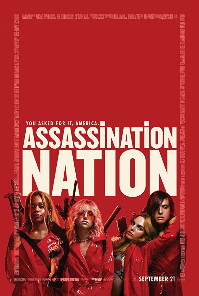 Assassination Nation (2018) Dual Audio Hindi English 720p BluRay Full Movie Free Download