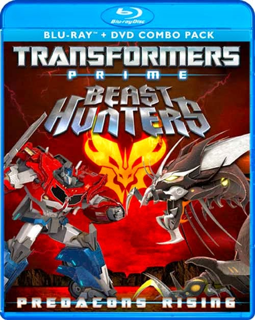 Transformers Prime Beast Hunters: Predacons Rising (2013) Dual Audio Hindi-English 250mb BRRip 480p