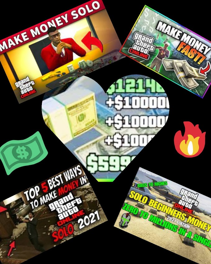 7Legit and best ways to make money in GTA 5 Online 2021   Solo & Beginners earn money in GTA 5 online   Best reviews by Reddit in GTA online   Hidden money in GTA 5 online 2021