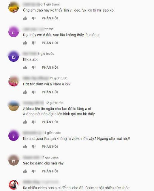 Khoa Pug đột ngột mất tích trên Youtube, người xem lo sợ: 'Có chuyện gì không anh ơi?'
