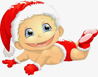 funny toddler santa avatar