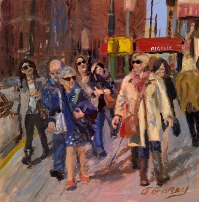 Американский художник. Tom Furey