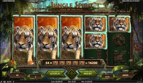 Main Gratis Slot Indonesia - Jungle Spirit NetEnt