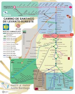 Mapa Metro 1
