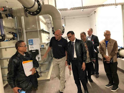 Sulawesi Selatan akan Adopsi Teknologi Pengolahan Air Tercanggih di Jerman