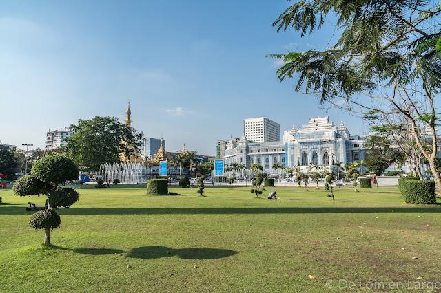 Jardin Mahabandula-Yangon-Myanmar-Birmanie