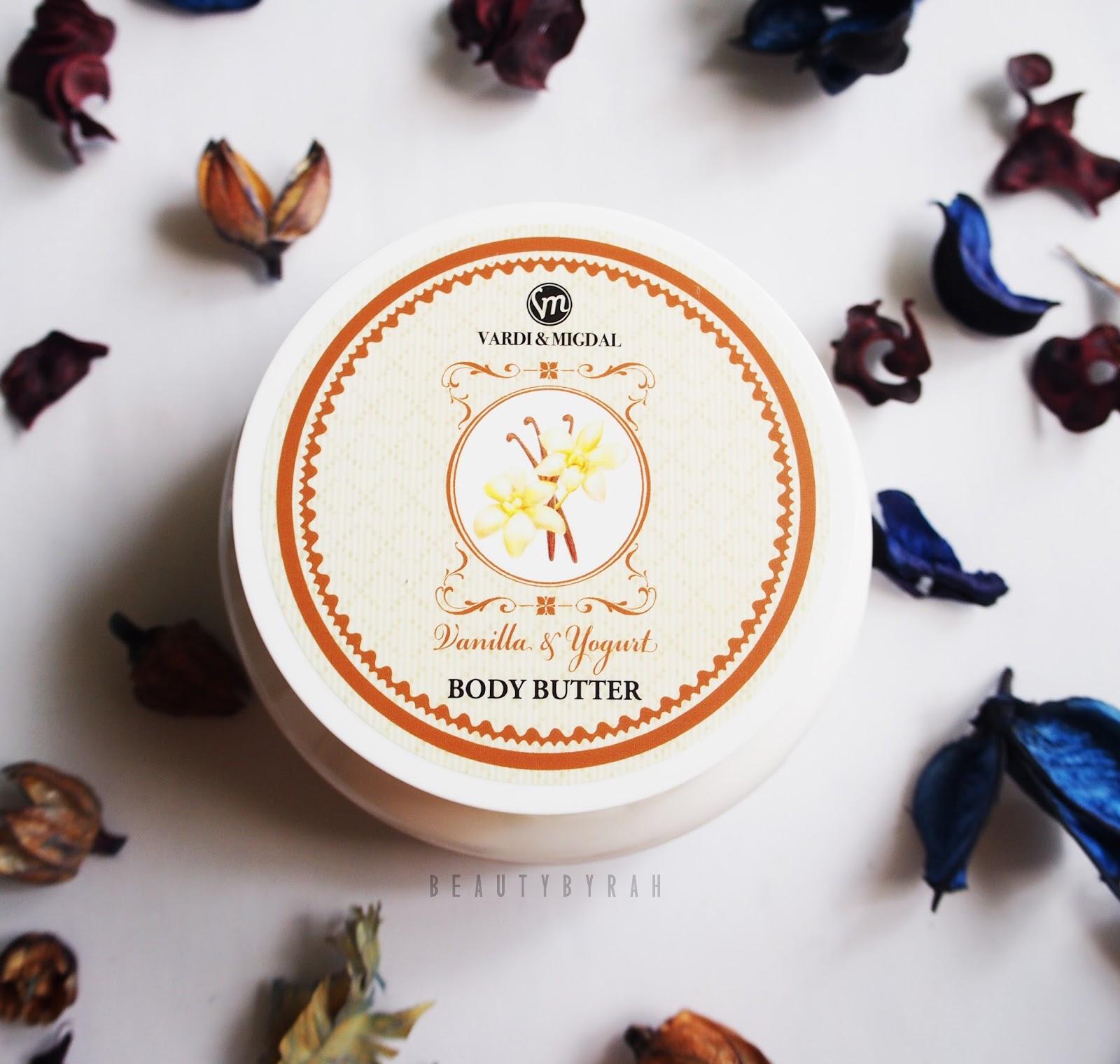 Vardi & Midgal Body Care Vanilla and Yoghurt Body Butter Review