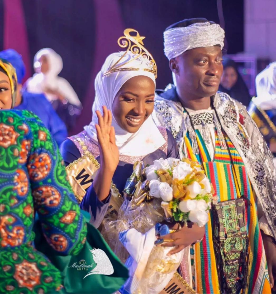 Faiza Isah Tayi Nasarar Lashe Gasar Mata Mafi Kyau A Ghana