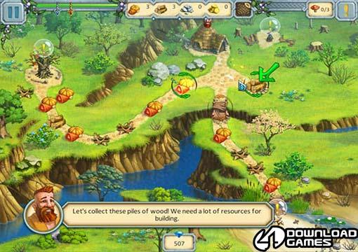 لعبة مملكة الكاهن Druid Kingdom