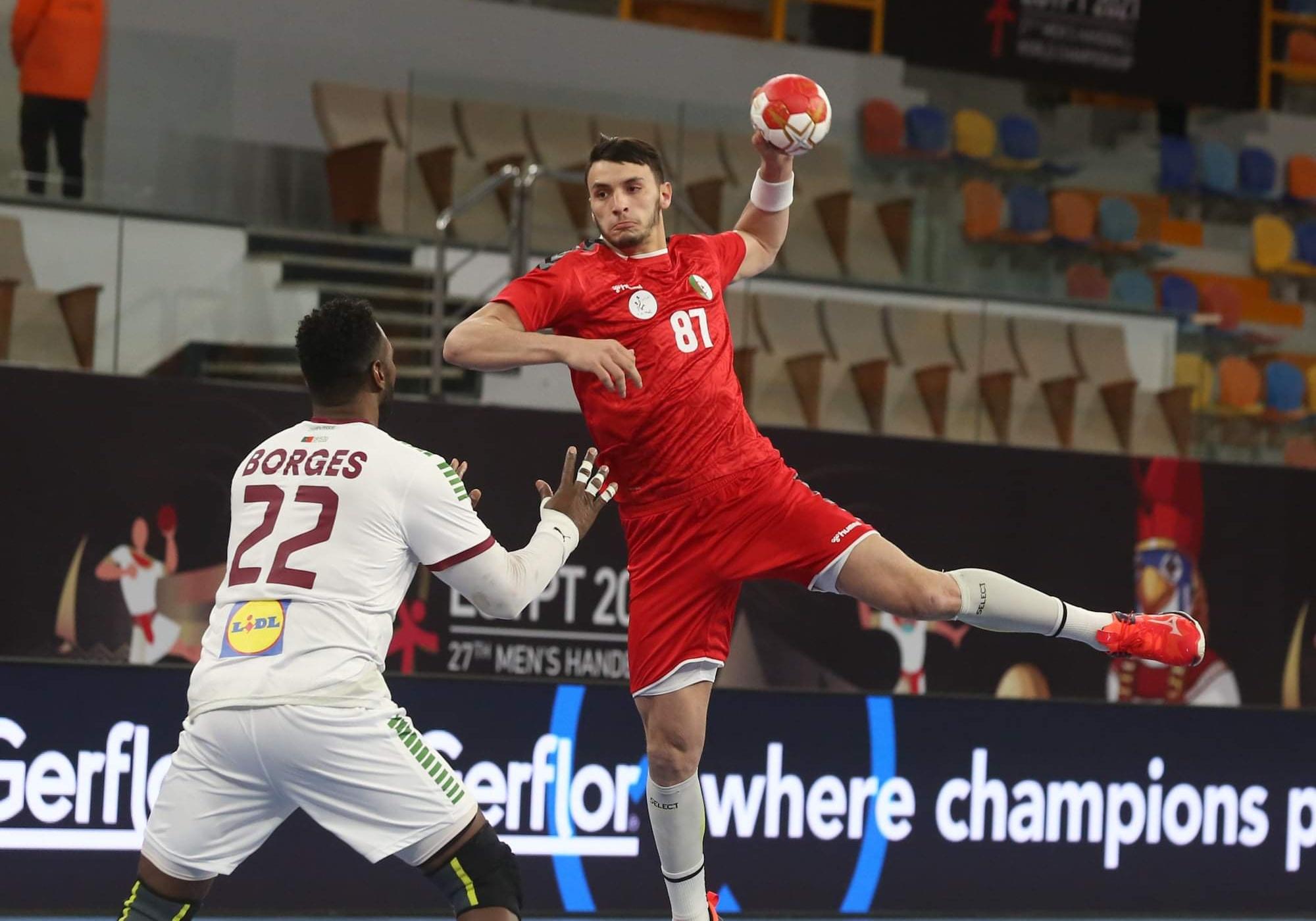 بطولة العالم لكرة اليد: انهزام الجزائر أمام البرتغال