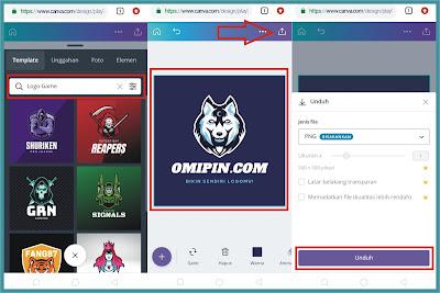 Cara Membuat Logo Gaming Online di Android Gratis Seperti Logo eSport