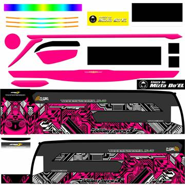 Livery JB3+ SDD MD Creation Electrical Magenta
