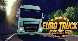 تحميل لعبة euro truck driver 2018 مهكرة