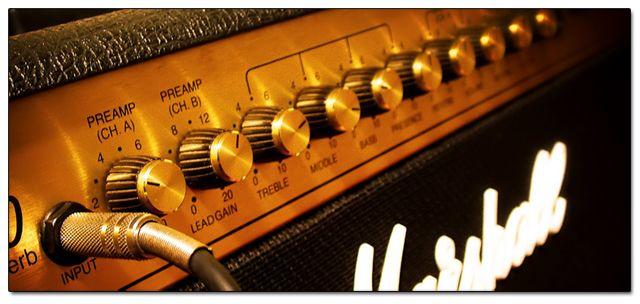 Amplificadores, Válvulas y Altavoces (Guitarra Eléctrica)