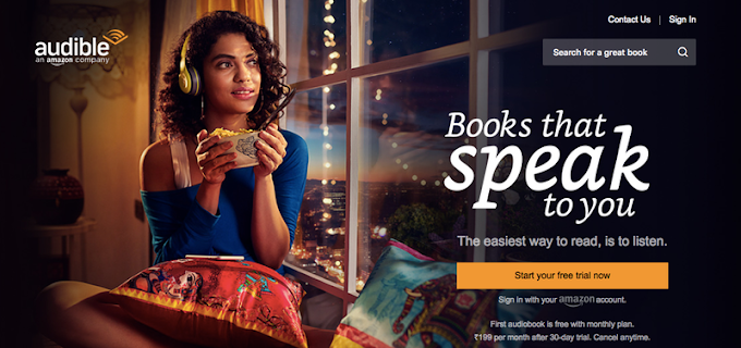 Audible 30-Day Free Trial  Whether you are looking for entertainment, education, or inspiration - Audible has audiobooks for every passion