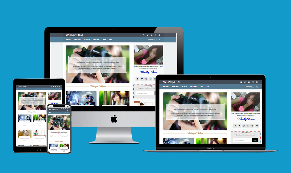 New Linkmagz Clasik  Responsive Blogger Template