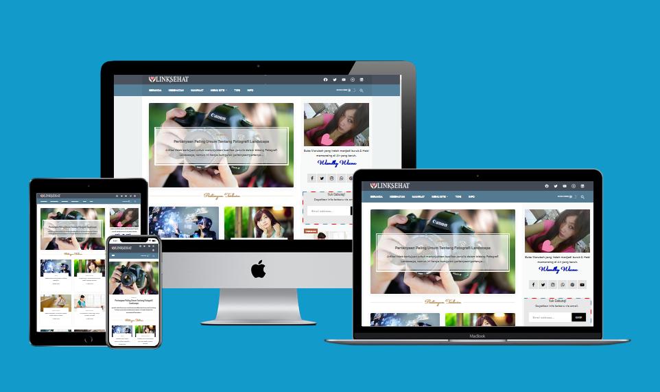 New Linkmagz Clasik  Responsive Blogger Template
