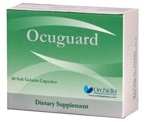 اوكيوجارد Ocuguard كبسولات مكمل غذائي لتقوية المناعة وحماية العين والنظر السعر في 2020