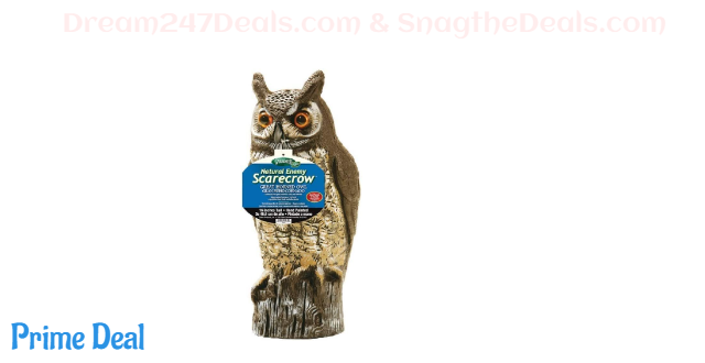 Gardeneer by Natural Enemy Scarecrow Horned Owl