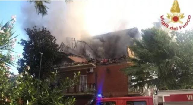 انفجار قوي يهز احدى المباني وسط العاصمة الايطالية روما