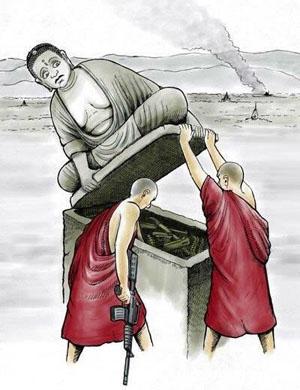 பௌத்த துறவிகளும் தற்கால பௌத்தமும்