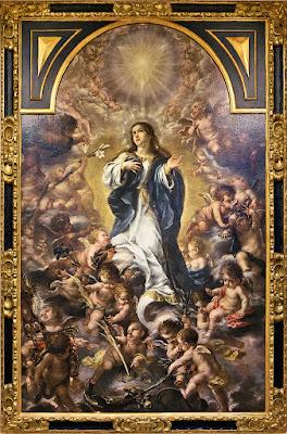 Inmaculada Concepción - Juan de Valdés Leal - 1.665 - Museo Bellas Artes de Sevilla. Procede del Convento de san Agustín