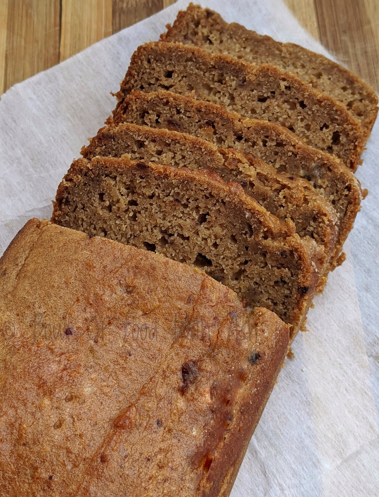 Eggless Sugarless Whole Wheat Banana and Dates Cake Recipe | How To Make Eggless Sugarless Banana and Dates cake