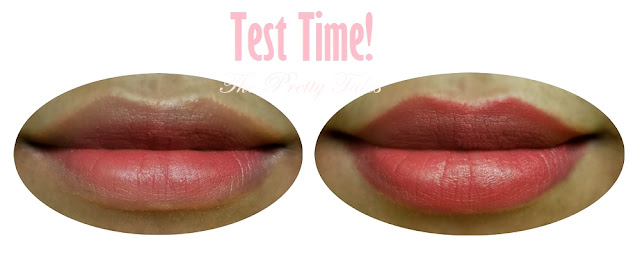 wardah long lasting lipstick 03 simply brown review test