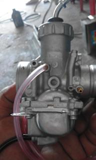 Gambar sisi kiri karburator Rxz