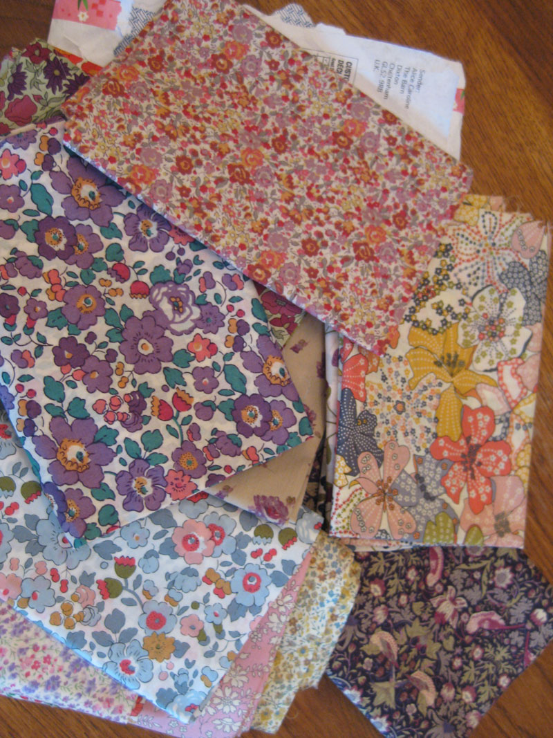 Liberty fat quarters