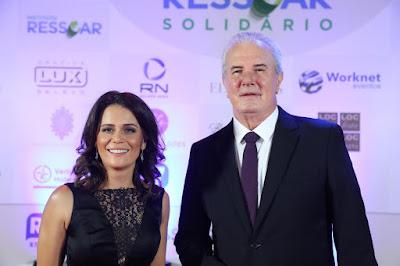 Adriana Araújo e Celso Freitas - Crédito: Antonio Chahestian/ Record TV