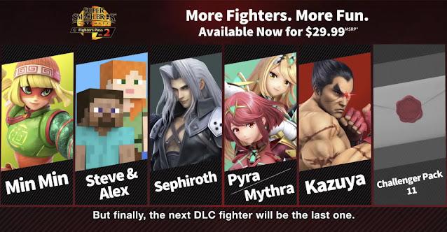Super Smash Bros. Ultimate Kazuya Fighters Pass