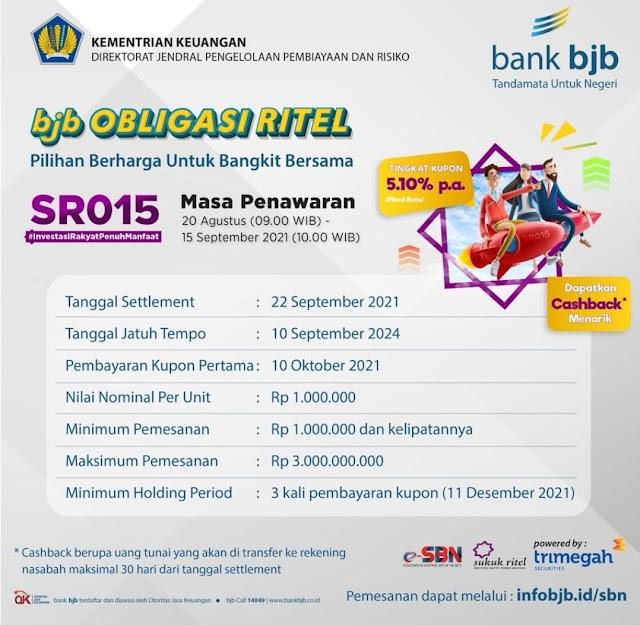 bank bjb Tawarkan Kemudahan Transaksi SR015 Secara Online