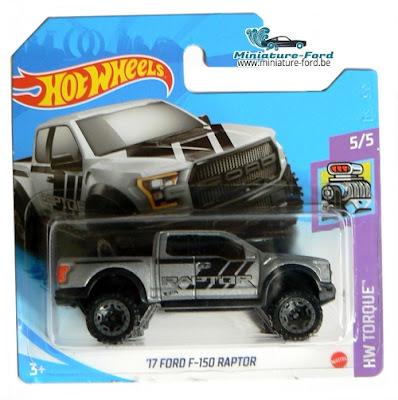 Hot Wheels, '17 Ford F-150  Raptor