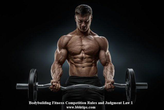 Bodybuilding Fitness Competition Rules Judgment Law 1
