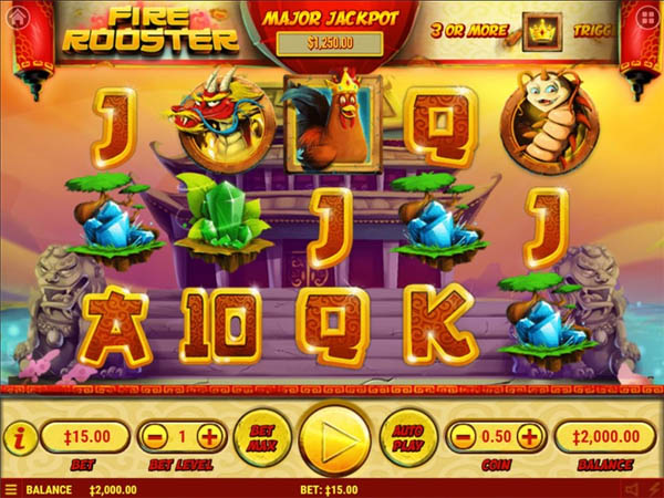 Main Gratis Slot Indonesia - Fire Rooster Habanero