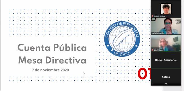 Cuenta pública 2020: libertad de prensa y el derecho a la comunicación fueron los ejes de un período histórico