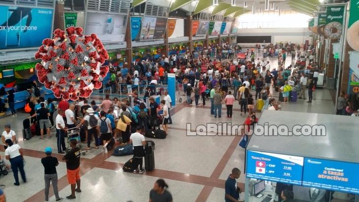 RD todavía permite entrada de pasajeros desde China y Europa