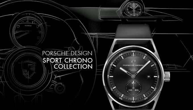 Porsche Design、新作Sport Chrono(スポーツ・クロノ)コレクションを発表