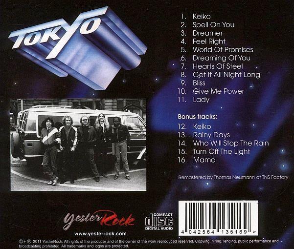 TOKYO - Fasten Seat Belts [Yesterrock remaster] back