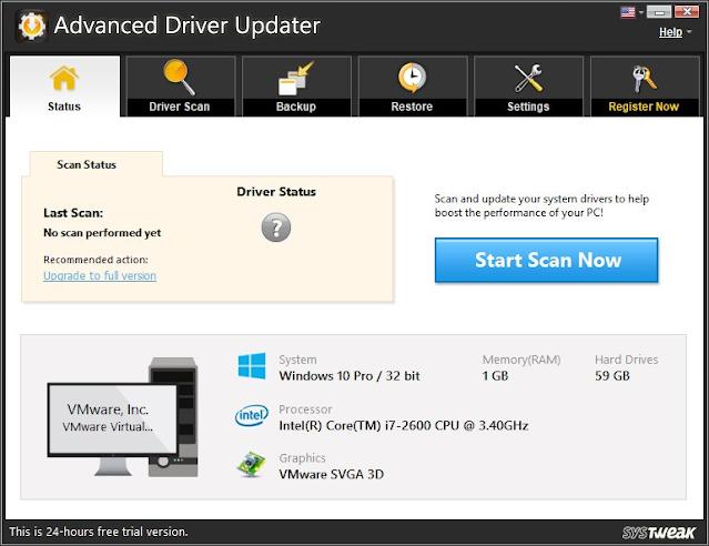 Advanced driver update