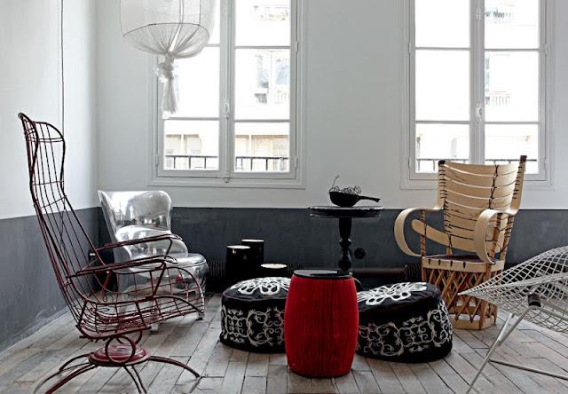 Квартира в стиле ВАУ от дизайнера Paola Navone
