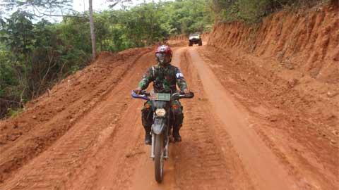Terbukanya Jalan Baru Masyarakat Berharap Tidak Lagi Menjadi Desa Tertinggal